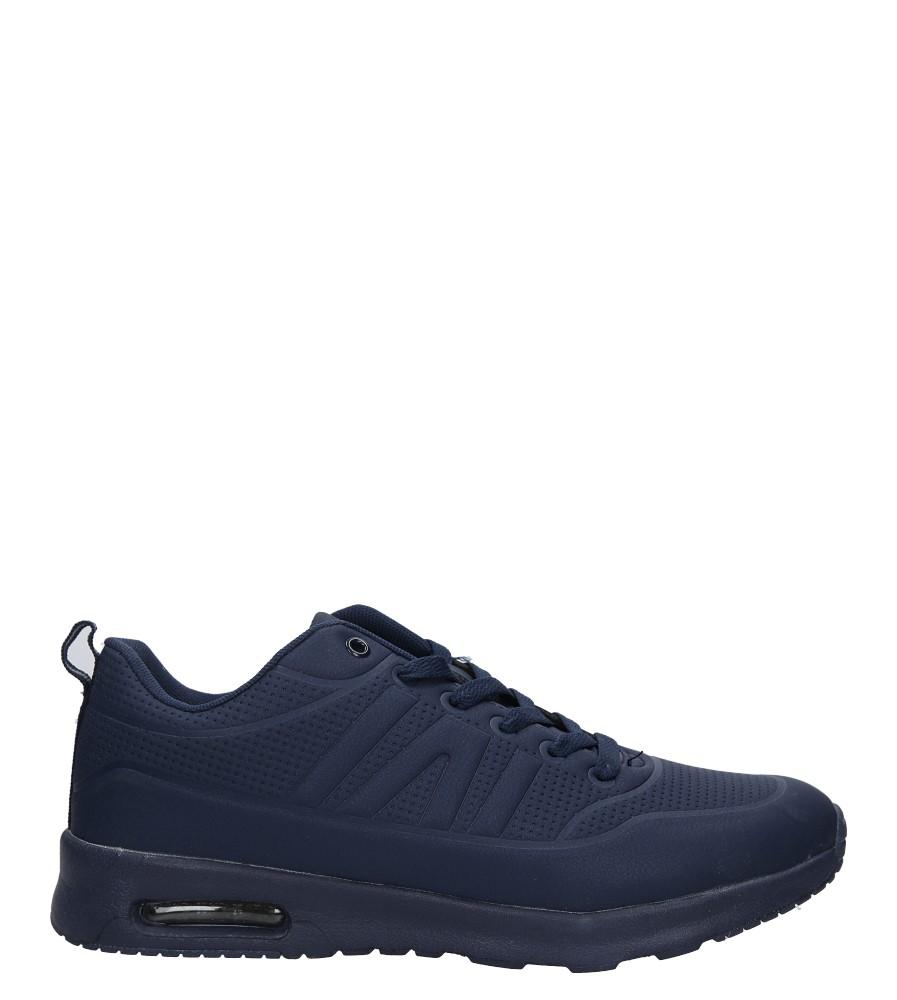 Granatowe buty sportowe sznurowane Casu MXC7550