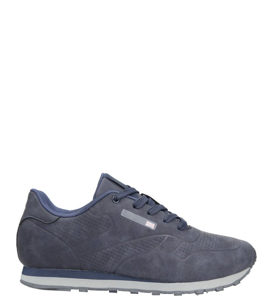 Granatowe buty sportowe sznurowane Casu MXC7565