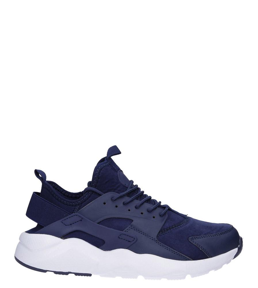 Granatowe buty sportowe sznurowane Casu U8102-3 model U8102-3