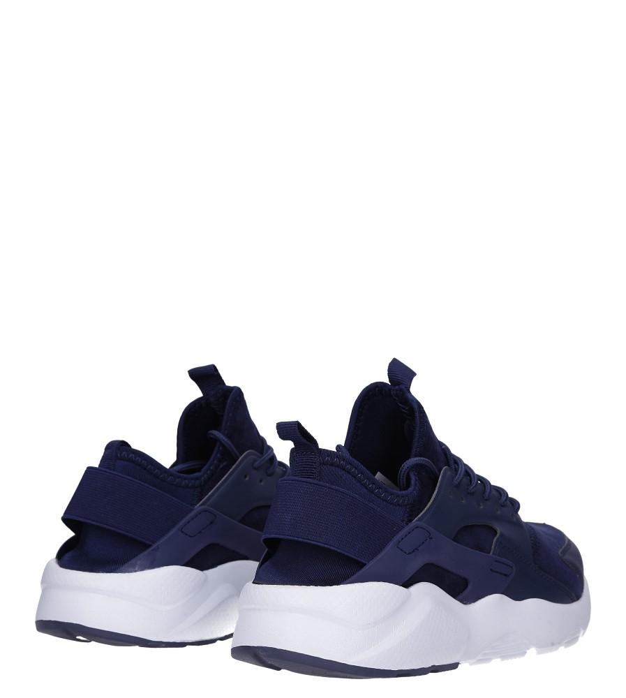 Granatowe buty sportowe sznurowane Casu U8102-3 wysokosc_obcasa 4 cm