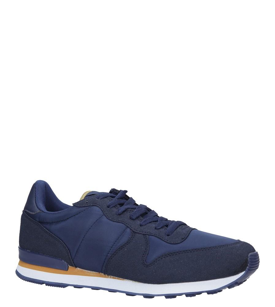 Granatowe buty sportowe sznurowane Casu U8106-3 producent Casu