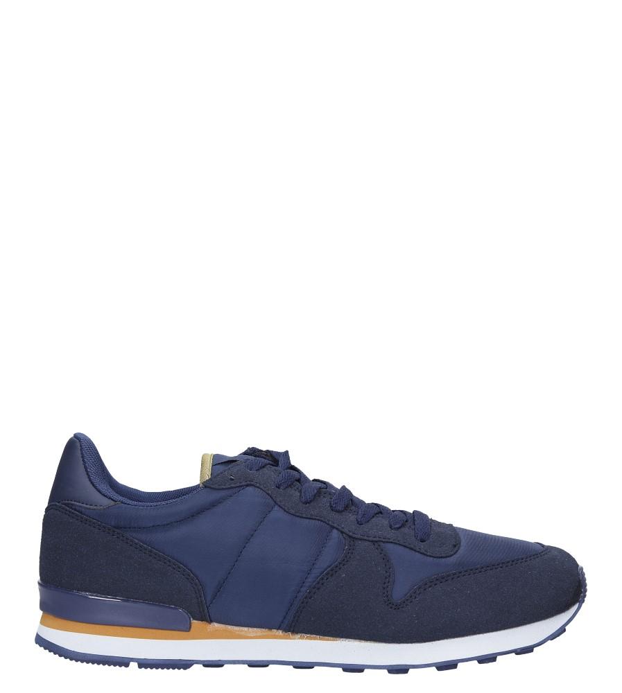 Granatowe buty sportowe sznurowane Casu U8106-3 model U8106-3