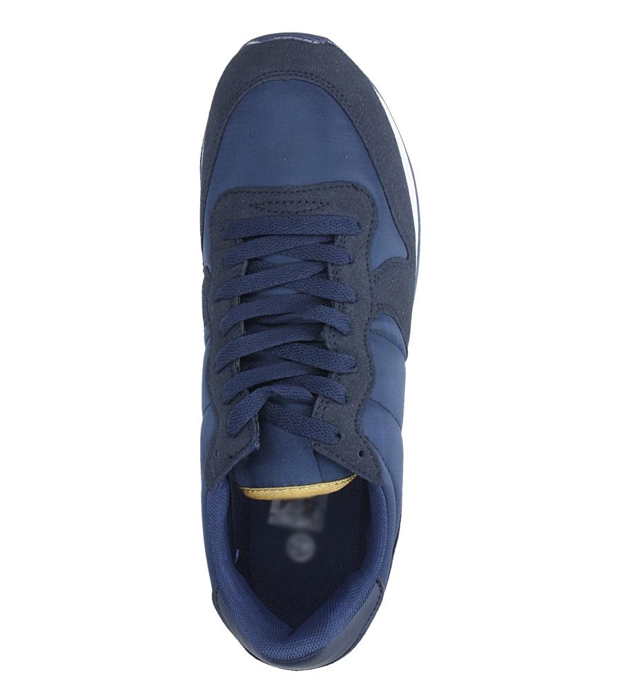 Granatowe buty sportowe sznurowane Casu U8106-3 wys_calkowita_buta 13 cm
