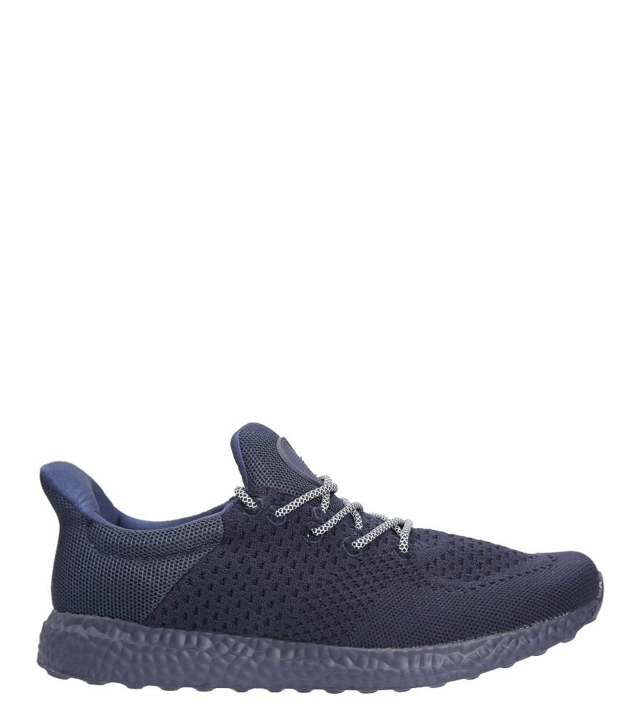 Granatowe buty sportowe sznurowane Casu WH28-2 granatowy