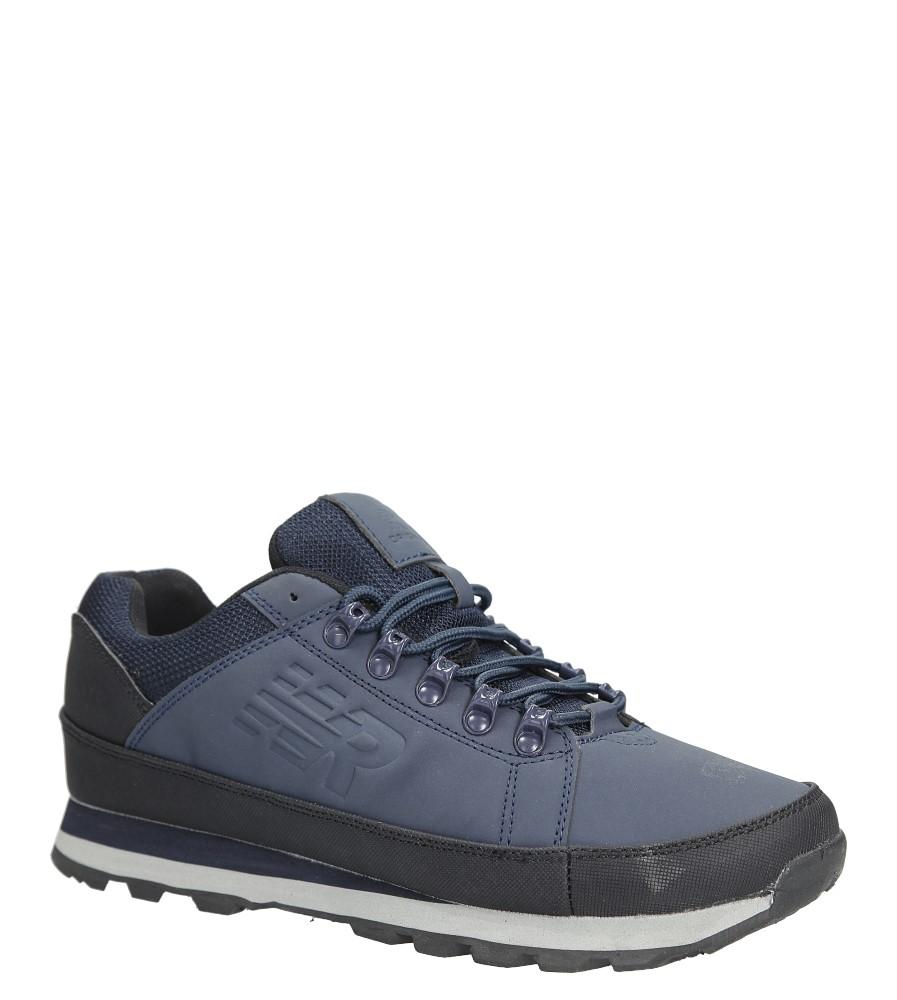 Granatowe buty trekkingowe sznurowane Casu 9ACH-17000