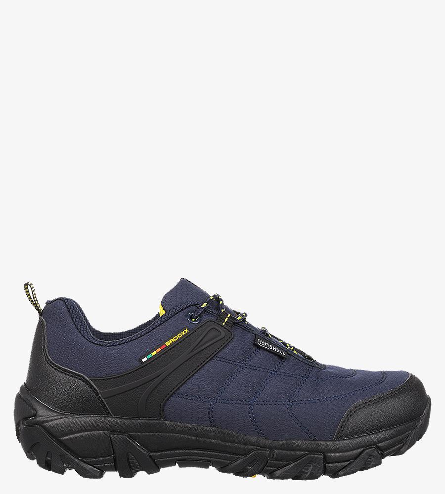 Granatowe buty trekkingowe sznurowane Casu MXC8100 granatowy
