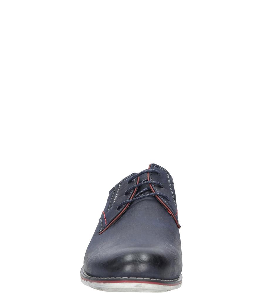 Granatowe półbuty Casu MXC361 kolor granatowy