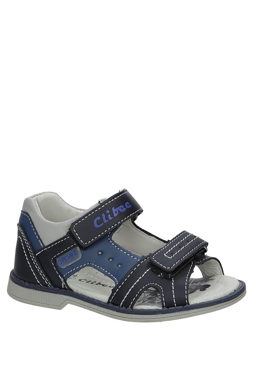 Granatowe sandały na rzepy Casu Z-285 producent Casu