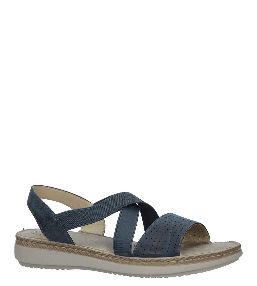 Granatowe sandały S.Barski 912-2