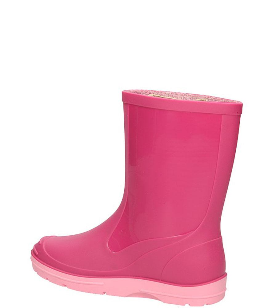 KALOSZE 120P kolor różowy