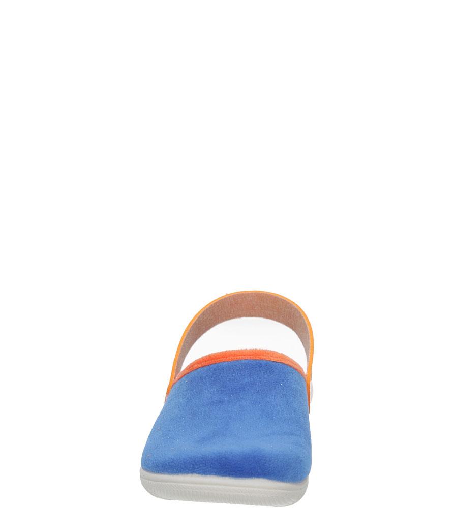 KAPCIE INBLU B9000008 kolor niebieski, pomarańczowy