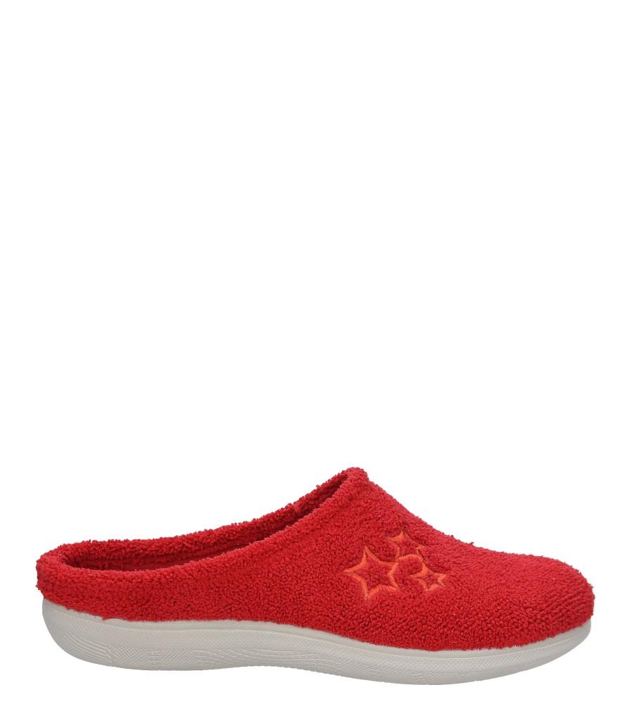 Damskie KAPCIE INBLU BS000028 czerwony;;