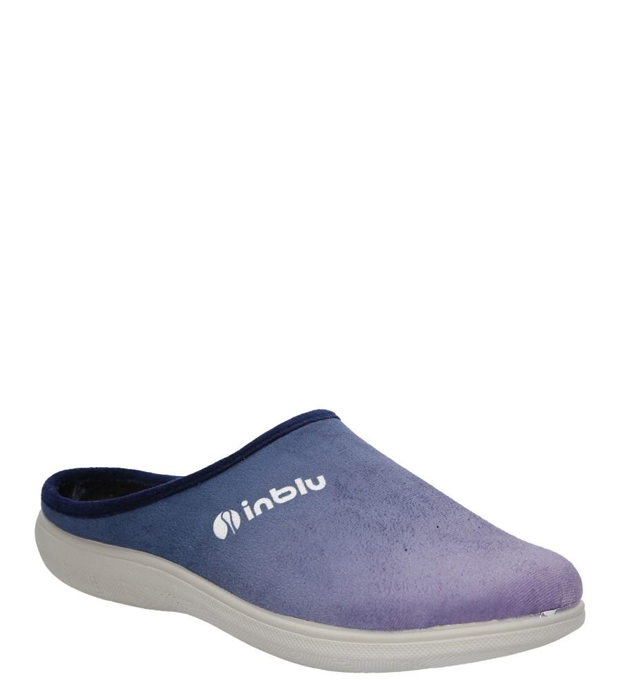 Damskie KAPCIE INBLU BS000029 niebieski;fioletowy;