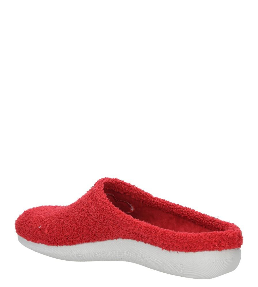 Kapcie Inblu BS000032 kolor czerwony