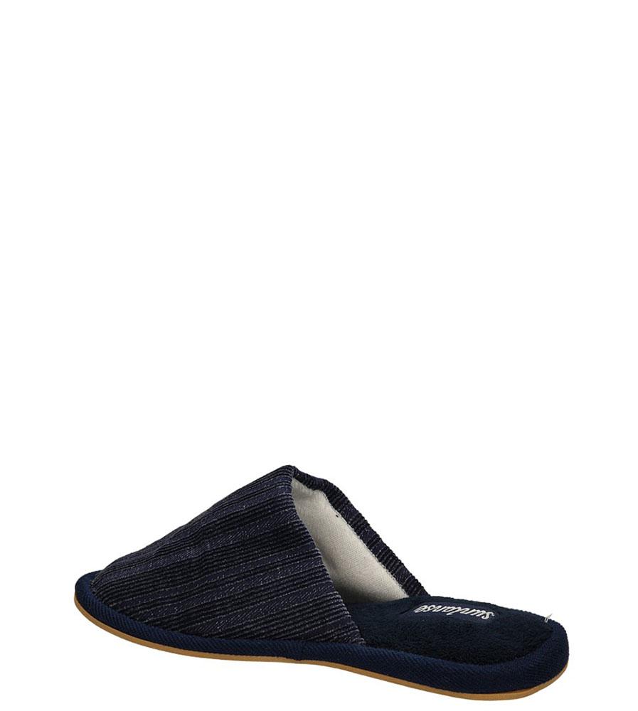 KLAPKI AMERICAN LC-A03300 kolor ciemny niebieski, czarny