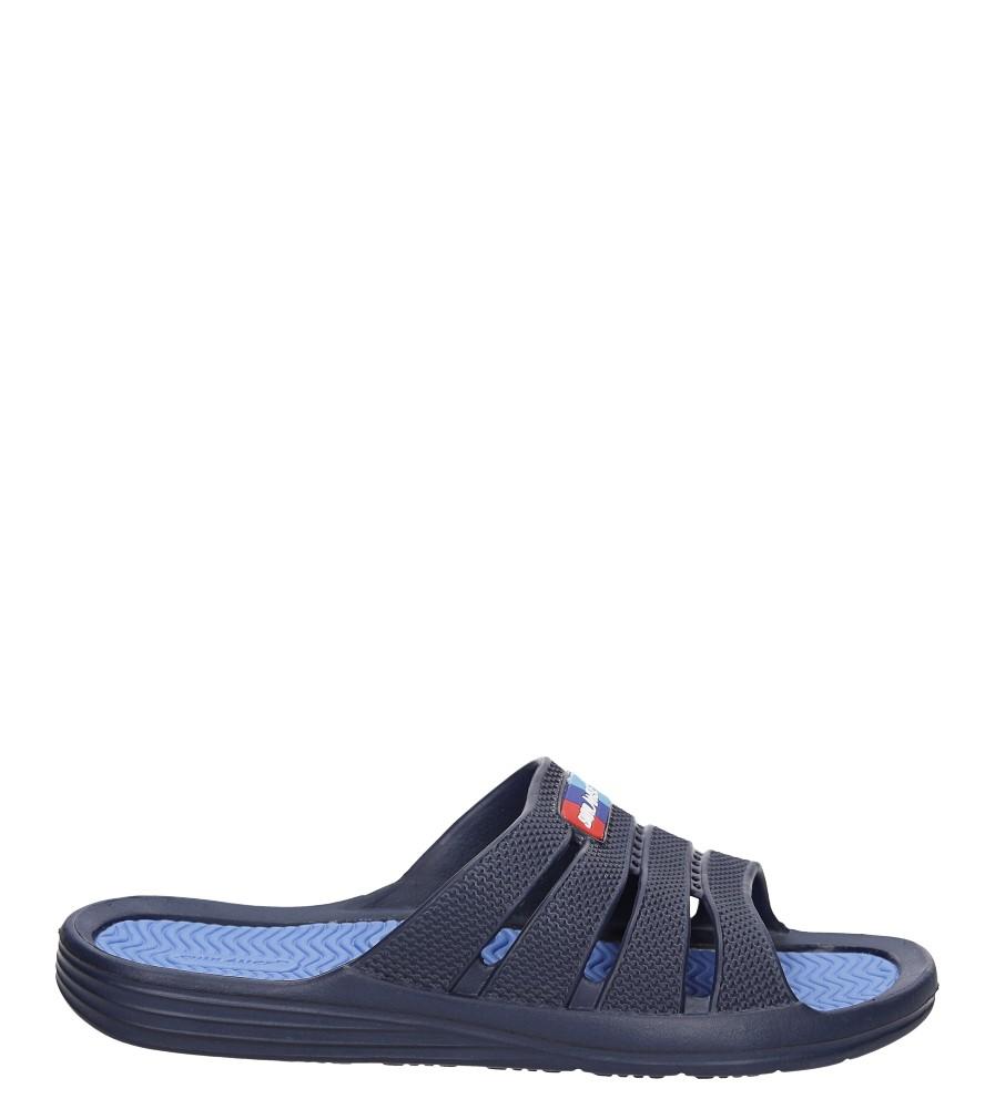 Męskie Klapki Casu H367 niebieski;niebieski;
