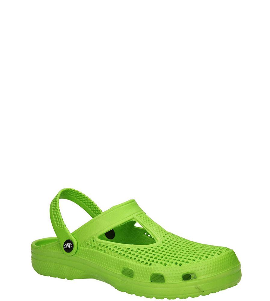 Damskie KLAPKI HASBY K348 zielony;;
