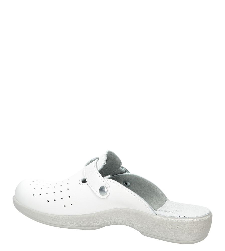 Klapki Inblu AE000001 kolor biały
