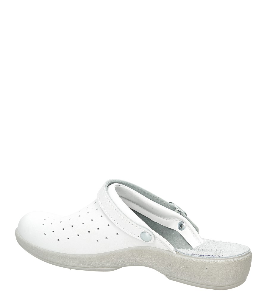 Klapki Inblu AE000003 kolor biały