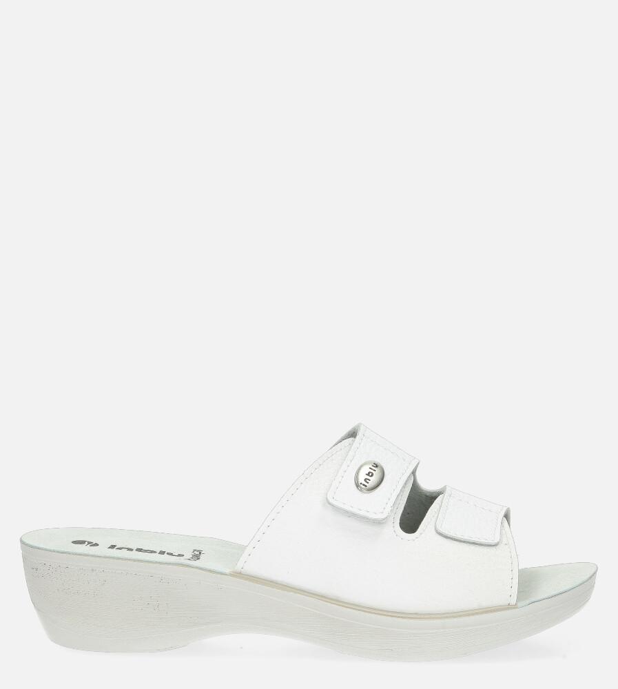 Damskie KLAPKI INBLU PL00028B biały;;