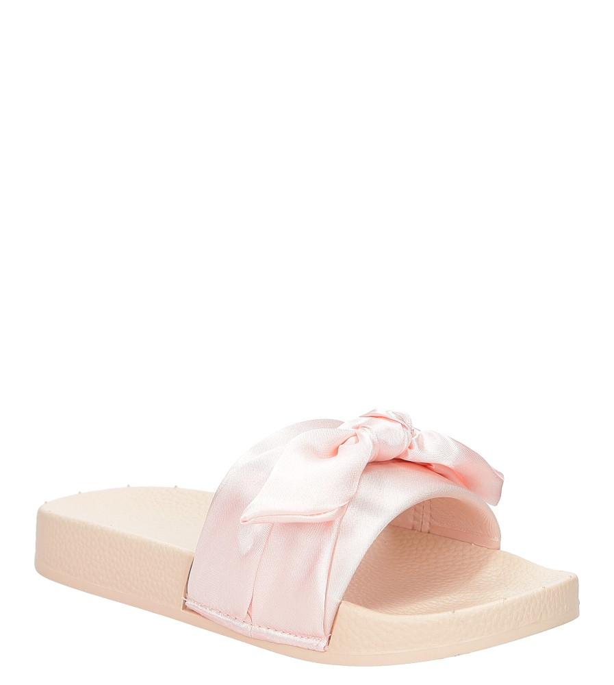 Dziecięce Klapki z kokardą Casu 20129 różowy;;