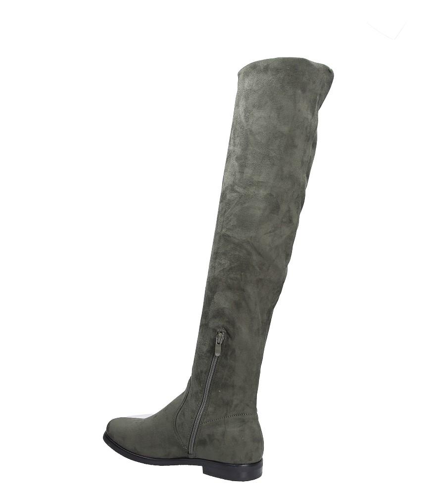 Kozaki za kolano Jezzi 7KZ35-0080 wysokosc_obcasa 2 cm