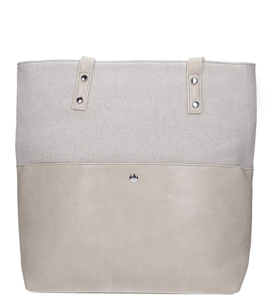 Kremowa torebka Casu AD-56