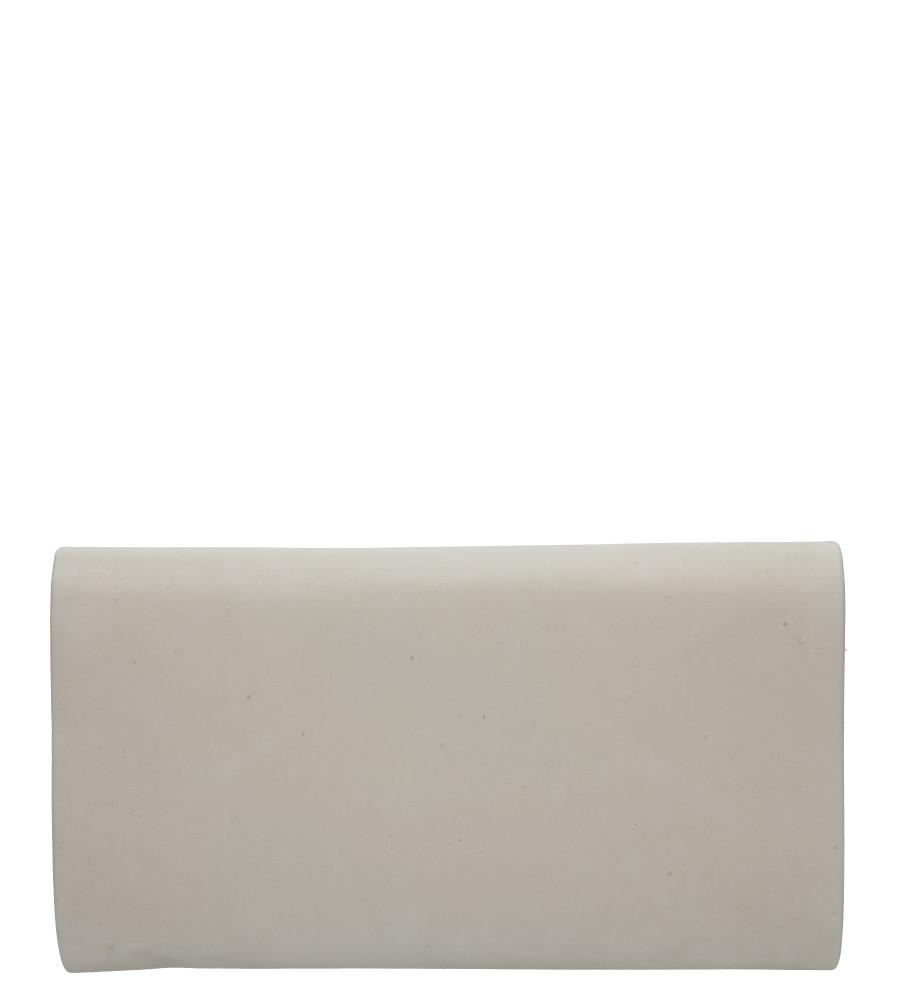 Kremowa torebka wizytowa Casu R06
