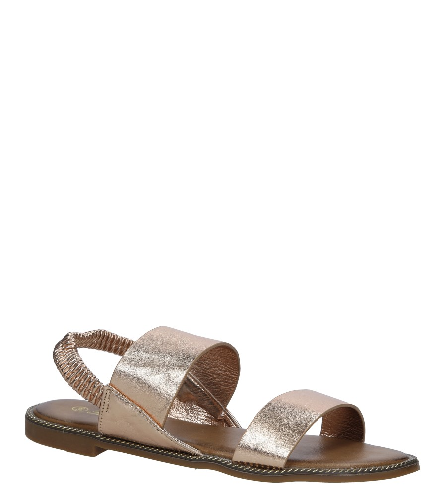 Miedziane sandały płaskie Casu 99-43 producent Casu