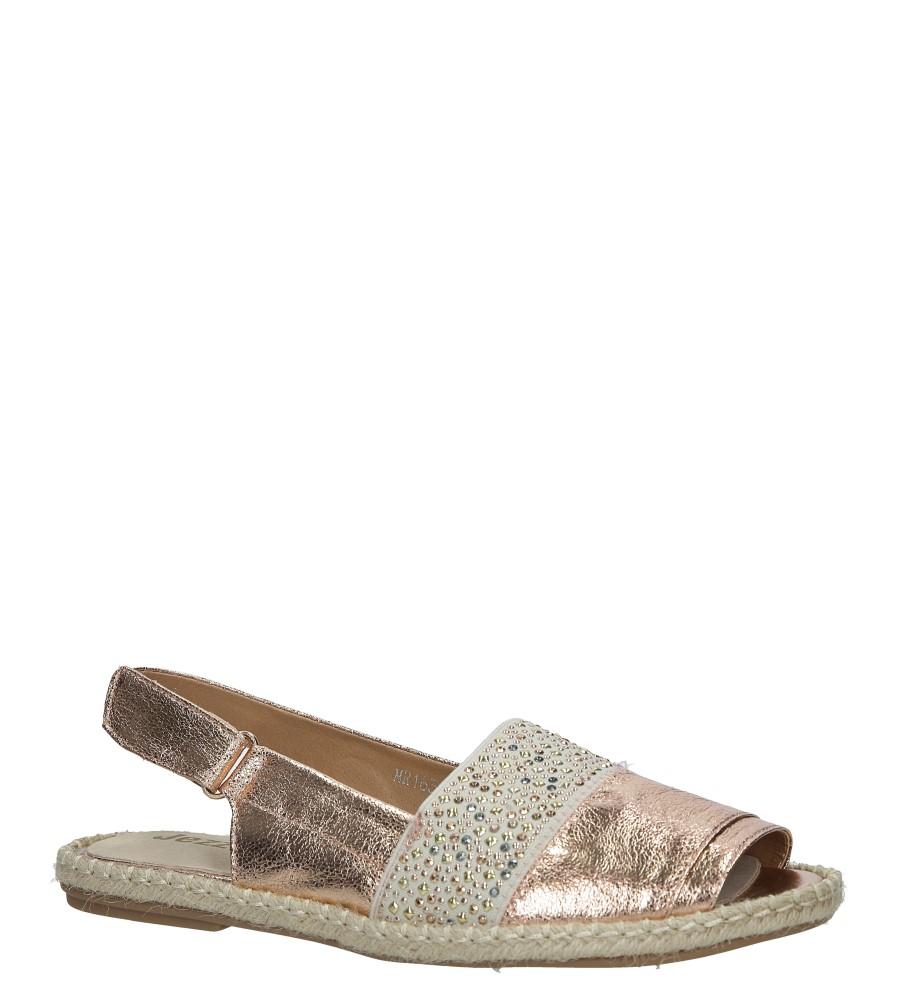 Miedziane sandały z nitami Jezzi MR1631-2 miedziany