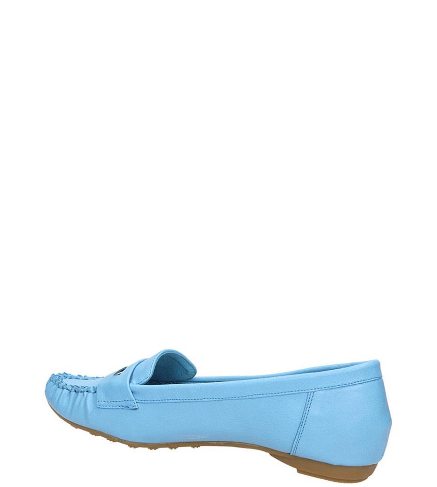 MOKASYNY CASU A1201 kolor niebieski