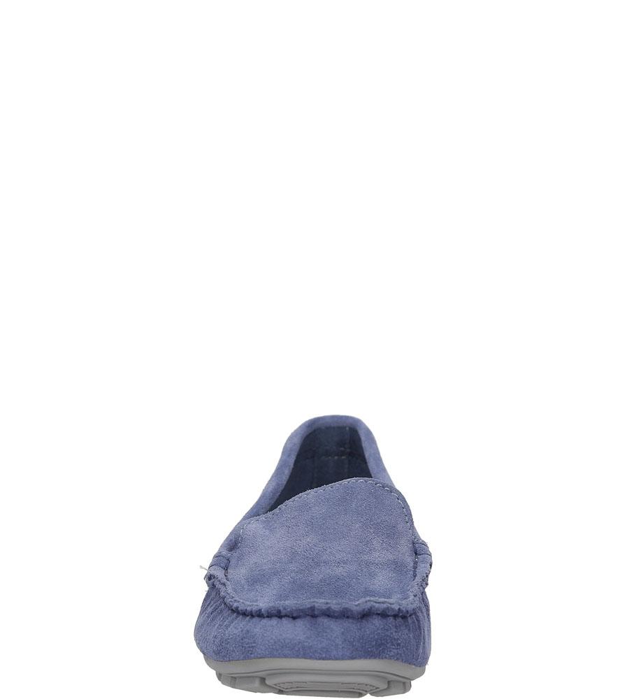MOKASYNY NESSI 17130 kolor niebieski