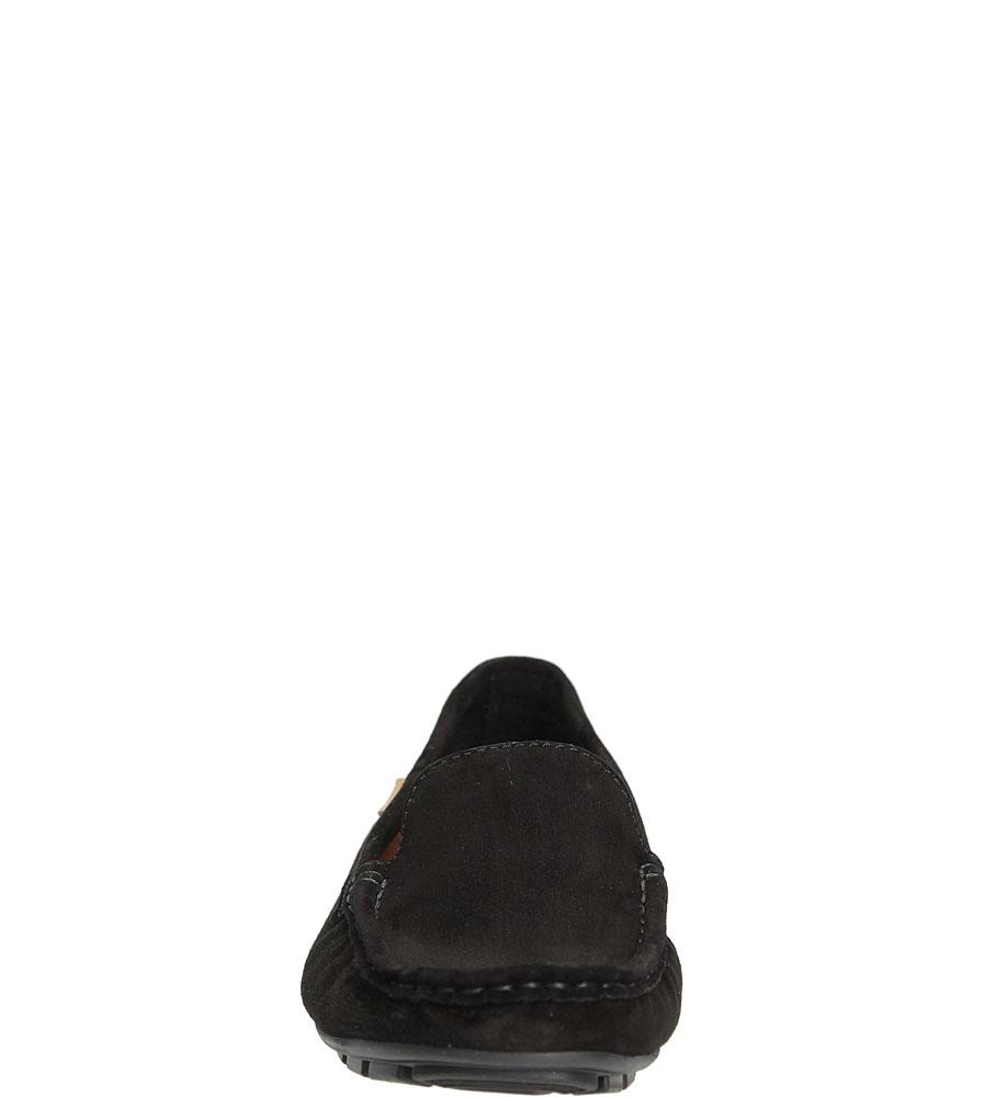 MOKASYNY NESSI 62605 kolor czarny
