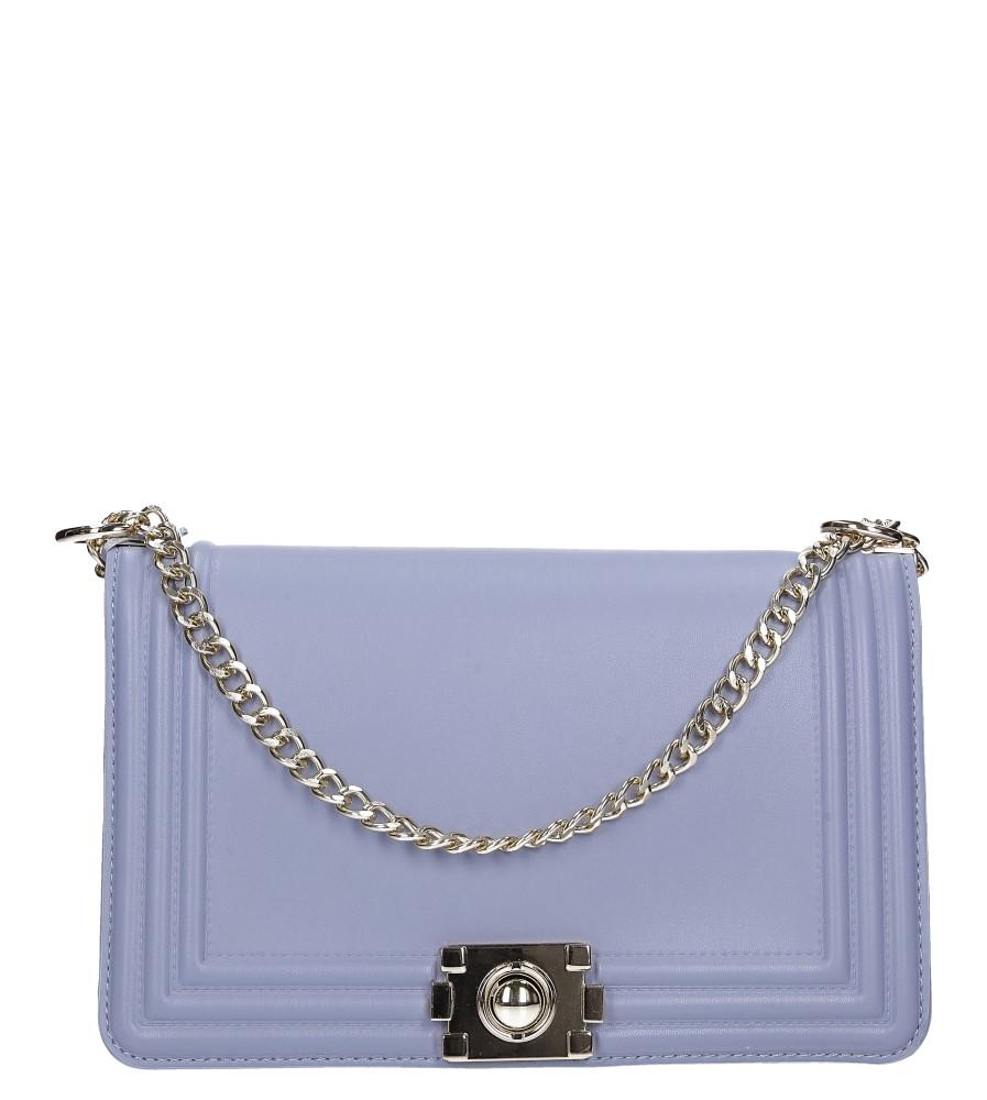 Niebieska torebka mała na łańcuszku Casu 3022-BB