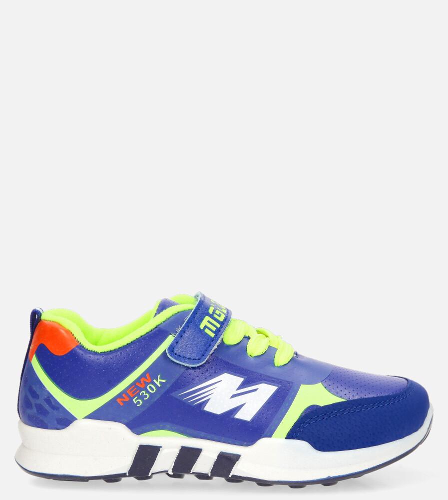 Niebieskie buty sportowe Casu 20X2/M ciemny niebieski