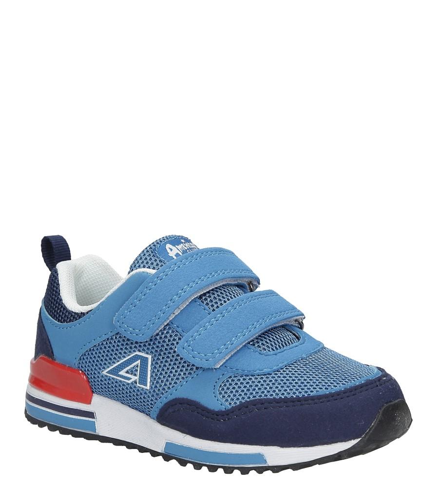 Niebieskie buty sportowe na rzepy  American 6