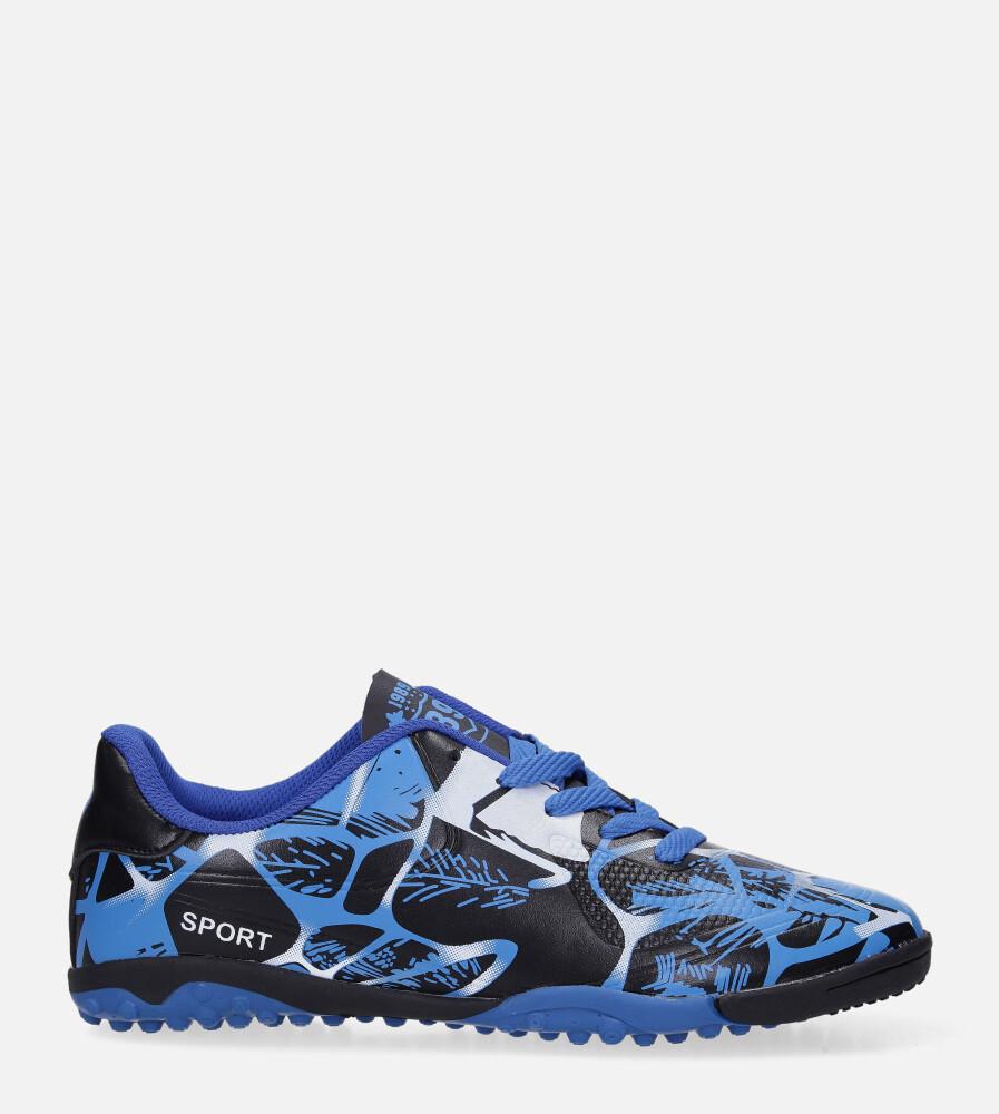Niebieskie buty sportowe orliki sznurowane Casu 163-1 model 163-1