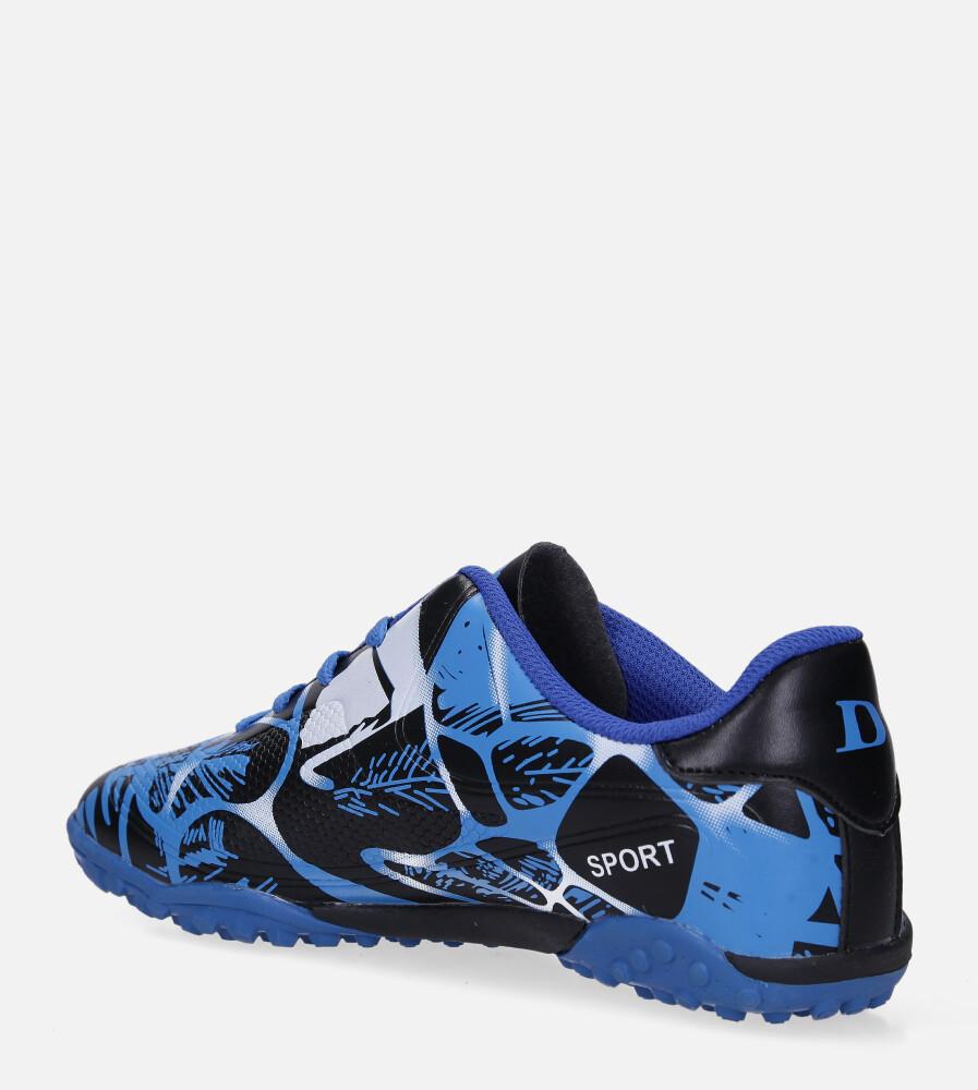 Niebieskie buty sportowe orliki sznurowane Casu 163-1 sezon Całoroczny