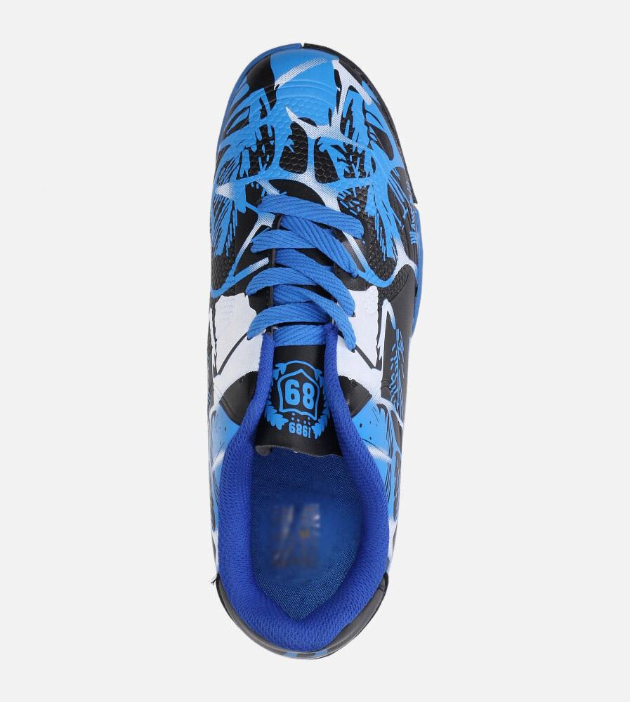 Niebieskie buty sportowe orliki sznurowane Casu 163-1 wys_calkowita_buta 12 cm