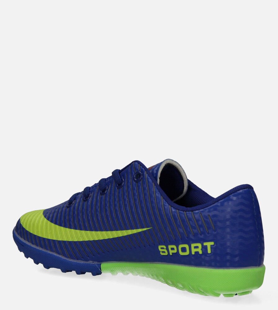 Niebieskie buty sportowe orliki sznurowane Casu 20M2/M sezon Całoroczny