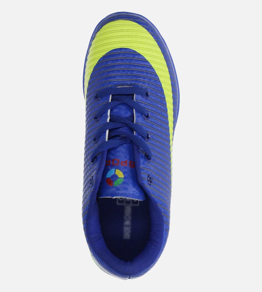 Niebieskie buty sportowe orliki sznurowane Casu 20M2/M wys_calkowita_buta 10 cm
