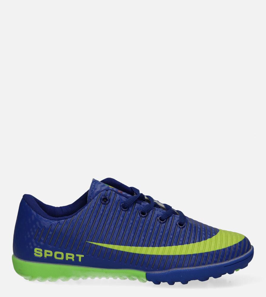 Niebieskie buty sportowe orliki sznurowane Casu 20M2/M model 20M2/M