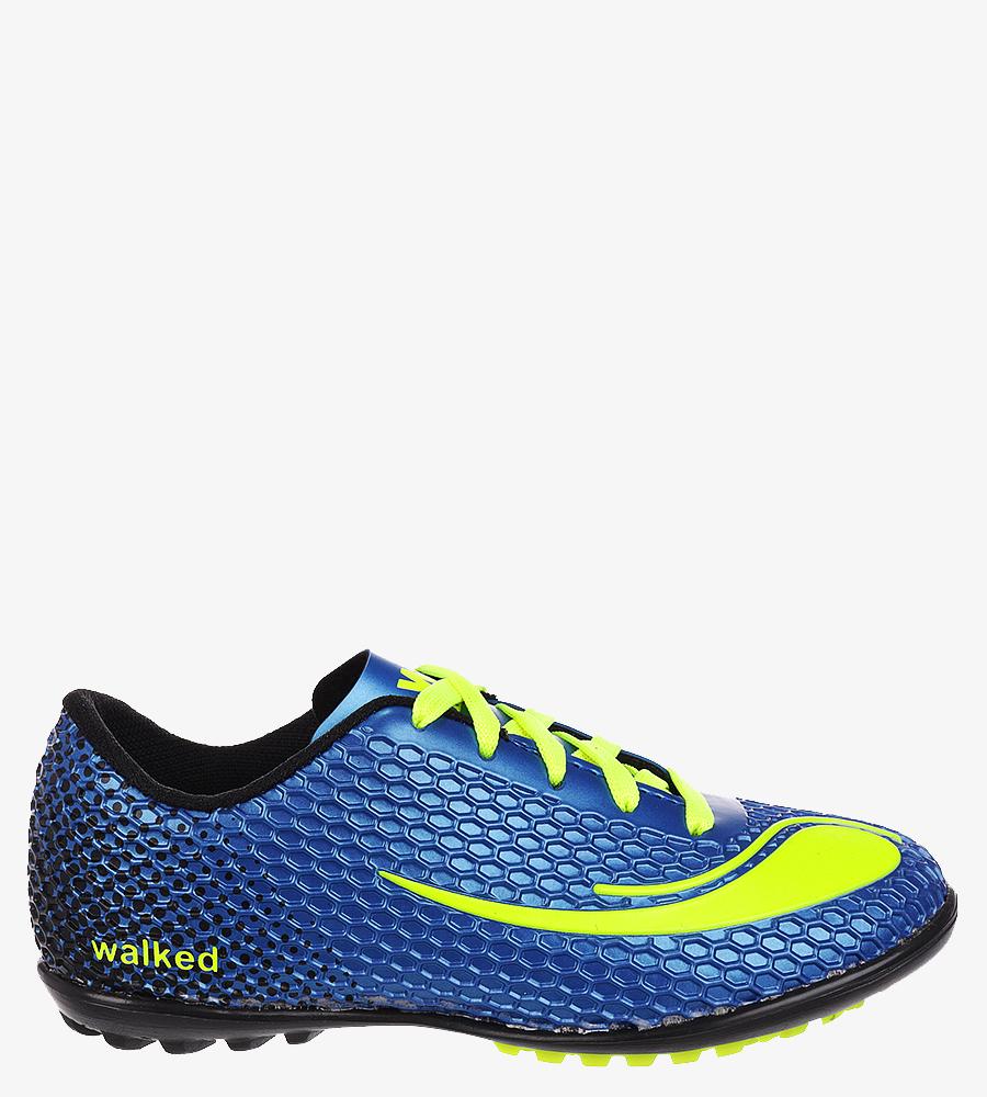 Niebieskie buty sportowe orliki sznurowane Casu D415-9 niebieski