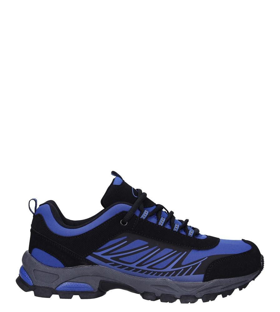 Niebieskie buty sportowe sznurowane softshell Casu A1810-3 model A1810-3