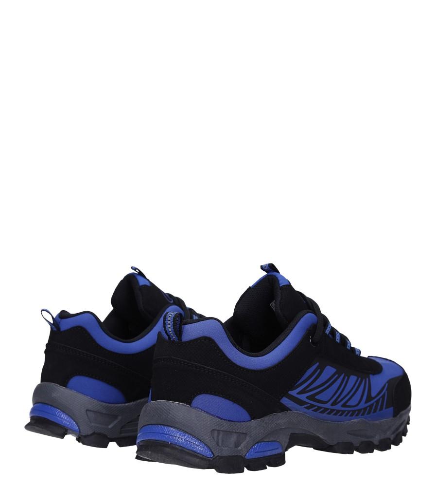 Niebieskie buty sportowe sznurowane softshell Casu A1810-3 wysokosc_obcasa 3 cm