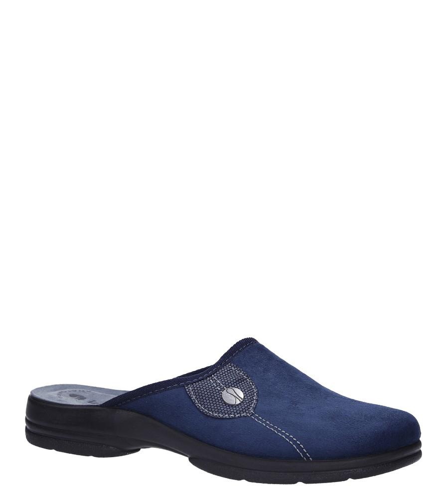 Niebieskie kapcie Inblu POB2T701W niebieski