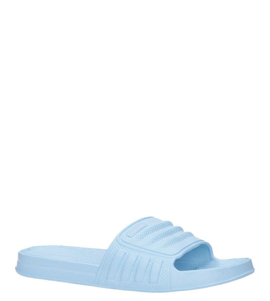 Niebieskie klapki basenowe American LU03/19 jasny niebieski