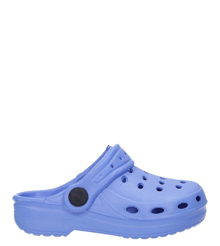 Niebieskie klapki basenowe Casu 17941 niebieski