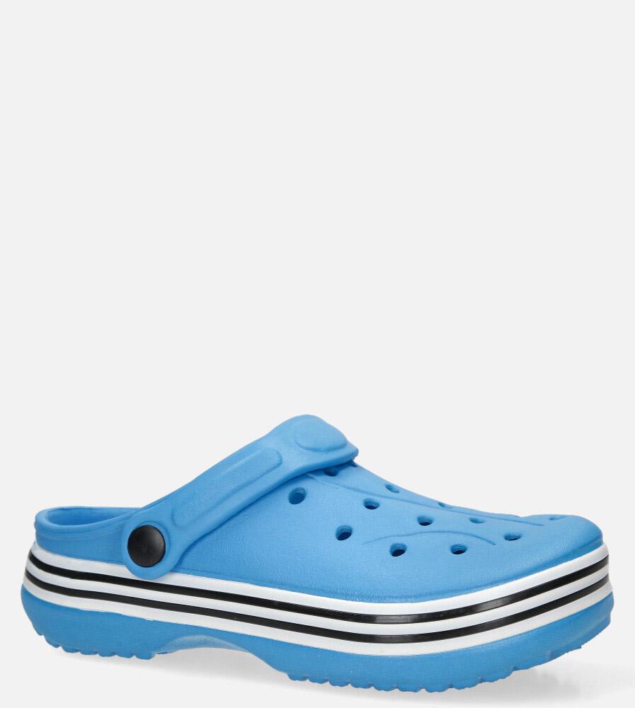 Niebieskie klapki basenowe Casu 2019A