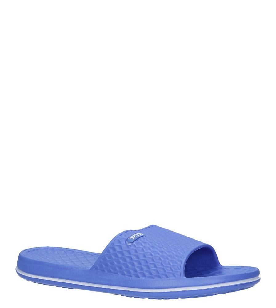 Niebieskie klapki basenowe Casu 802